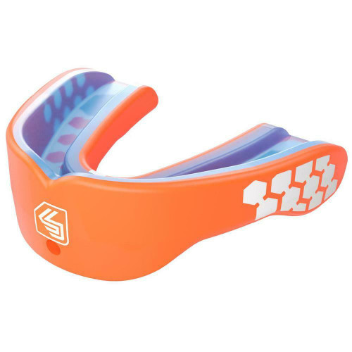 Shock Doctor Gel Max Power Kids Mouthguard Orange Youth Years 10 & Under