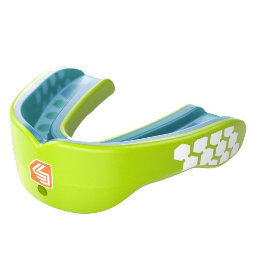 Shock Doctor Gel Max Power Kids Mouthguard Green Youth Years 10 & Under