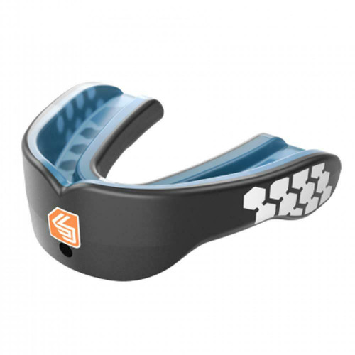 Shock Doctor Gel Max Power Mouthguard In Black - Adult Years 10+