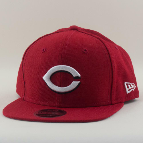 Cincinnati Reds New Era Cap MLB 9Fifty Flat Brim Hat In Red