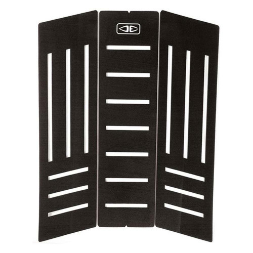 Down the Line 3 Piece Centre Deck Tail Pad in Black from Ocean & Earth Traction