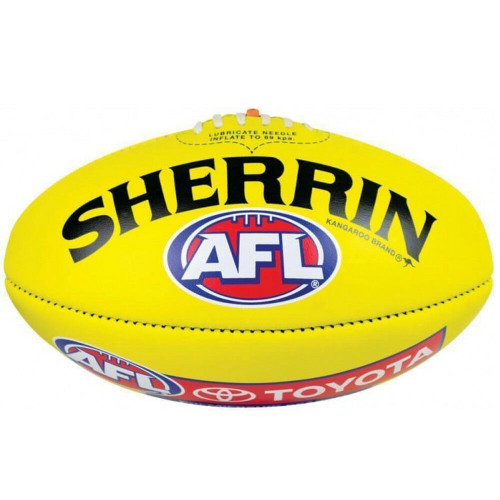 The Official Game Ball Of The AFL - Premiership Season Ball From Sherrin