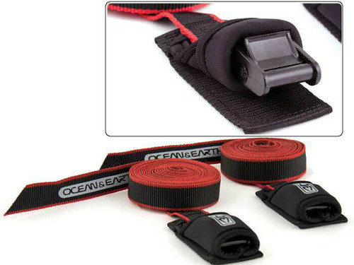 Ocean & Earth 2.5M Tie Down straps O&E- Secure Your Surfboards