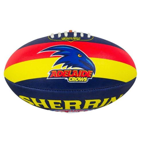 Sherrin Size 5 Club AFL Football - Adelaide Crows From Sherrin