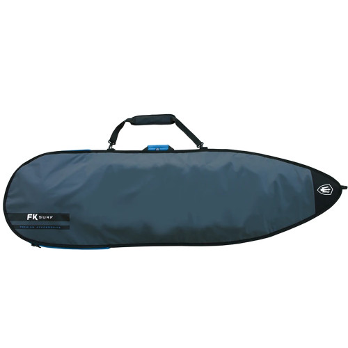 FK 5'8 Funboard Allrounder Surfboard Cover In Silver From Far King