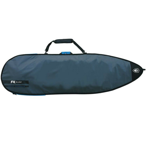 FK 5'8 Allrounder Surfboard Surfing Cover In Silver From Far King