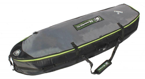 "6'7"" Surfboard Wheelie Travel Bag Fits 3-4 Surfboards From Far King"