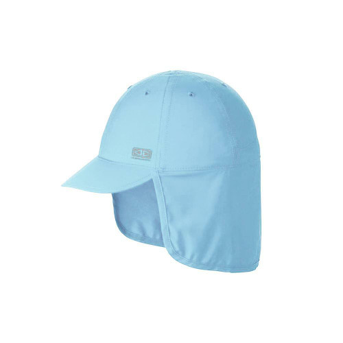Ocean & Earth Kids Sunbreaker Beach Hat In Aqua