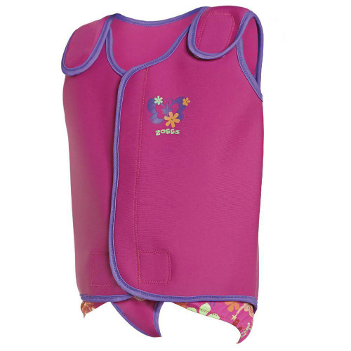 Zoggs 3 - 6 Months Lily and Iris Baby Wrap in Pink/Purple