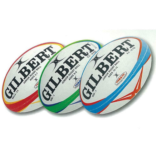 Gilbert Rugby Pathways Match Rugby Ball in Various Sizes & Colours