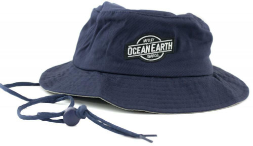 Ocean & Earth Toddler One Dayer Hat 12 to 36 Months Old In Navy