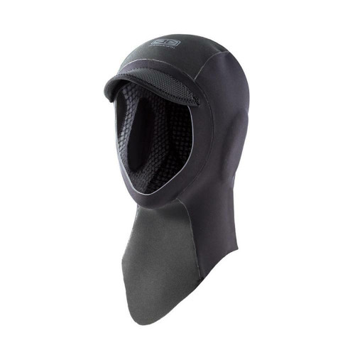 Double Black Ocean & Earth 2mm Full Face Neoprene Surf Hood