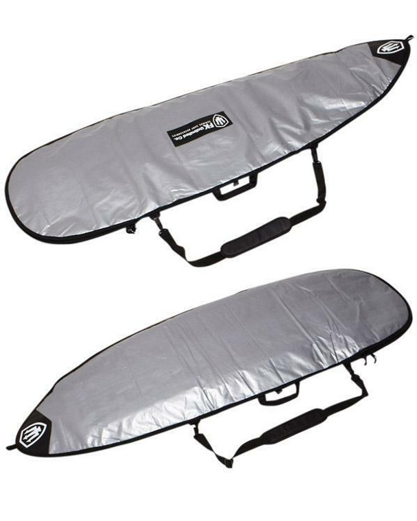 FK 6'0 Funboard Allrounder Surfboard Cover In Silver From Far King Surf