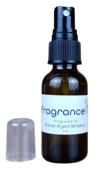 1 oz Fragrance Oil Spray Bottle - Barrel Aged Whiskey