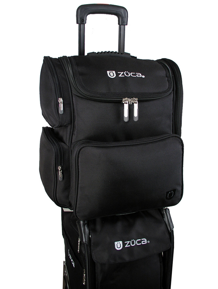 Stack your ZÜCA Business Backpack on other bags.
