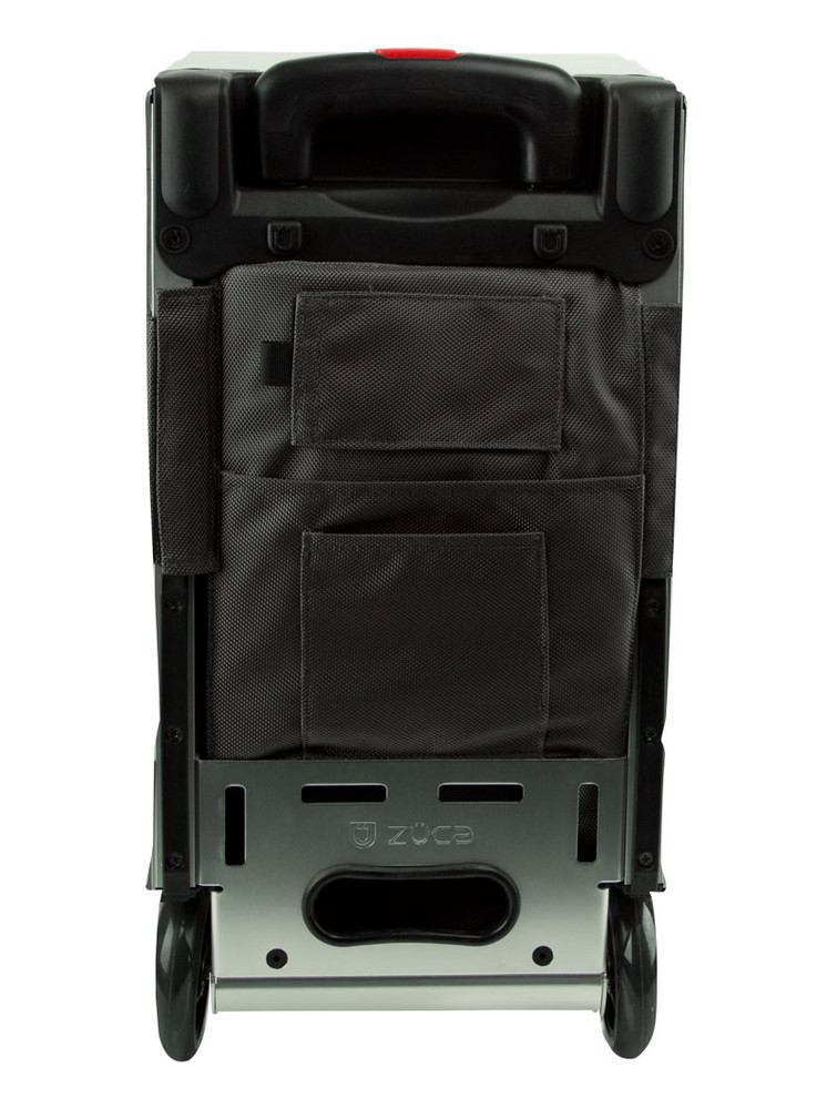 ZÜCA Pro Travel Graphite Gray/Silver - rear view
