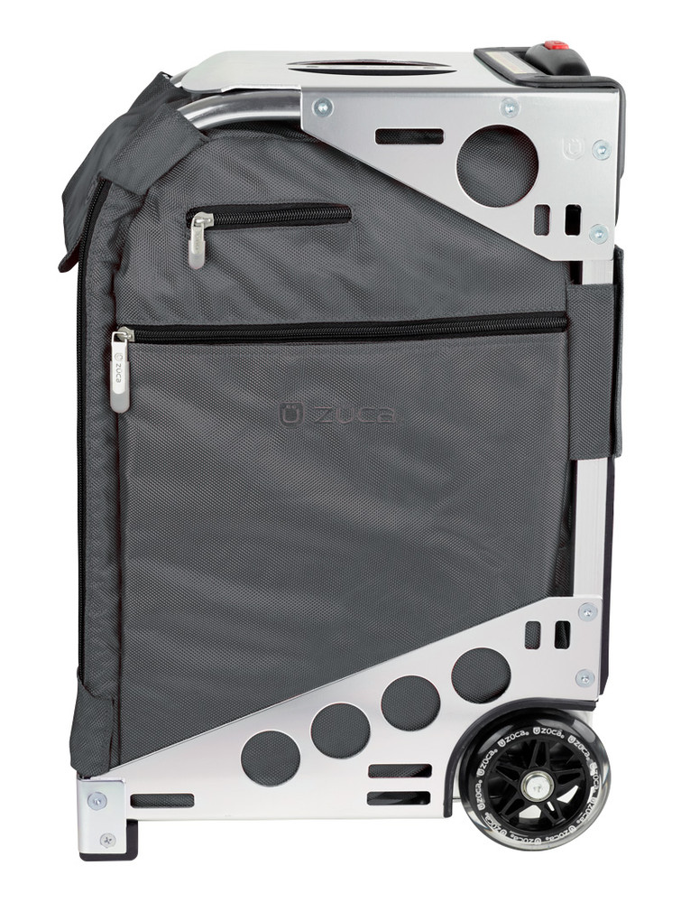 ZÜCA Pro Travel Graphite Gray/Silver - side view
