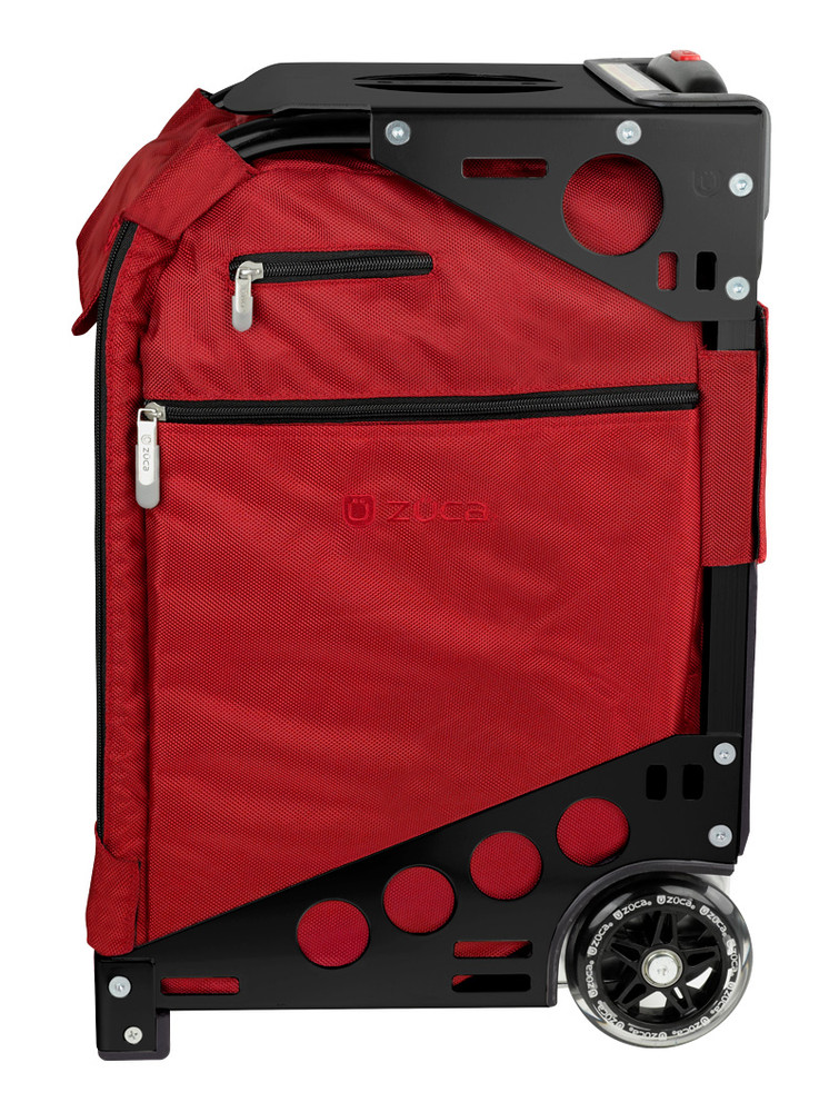 ZÜCA Pro Travel Ruby Red/Black - side view