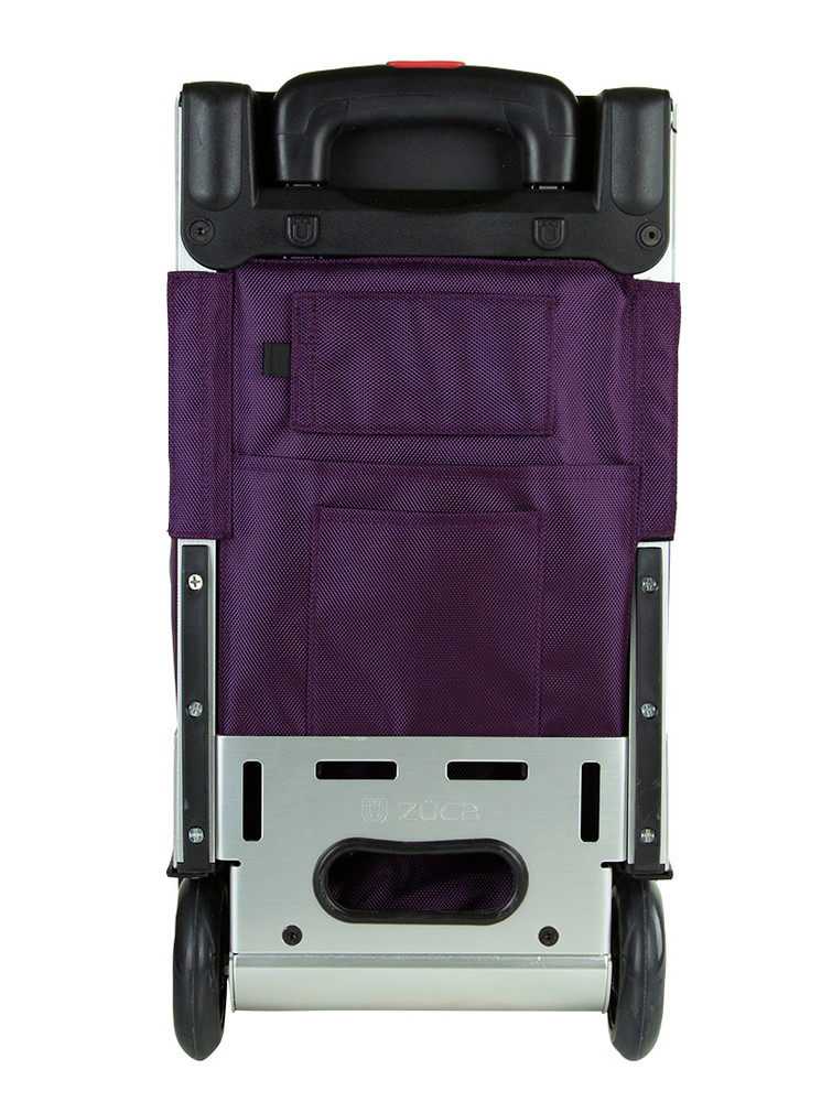 ZÜCA Pro Travel Royal Purple/Silver - rear view