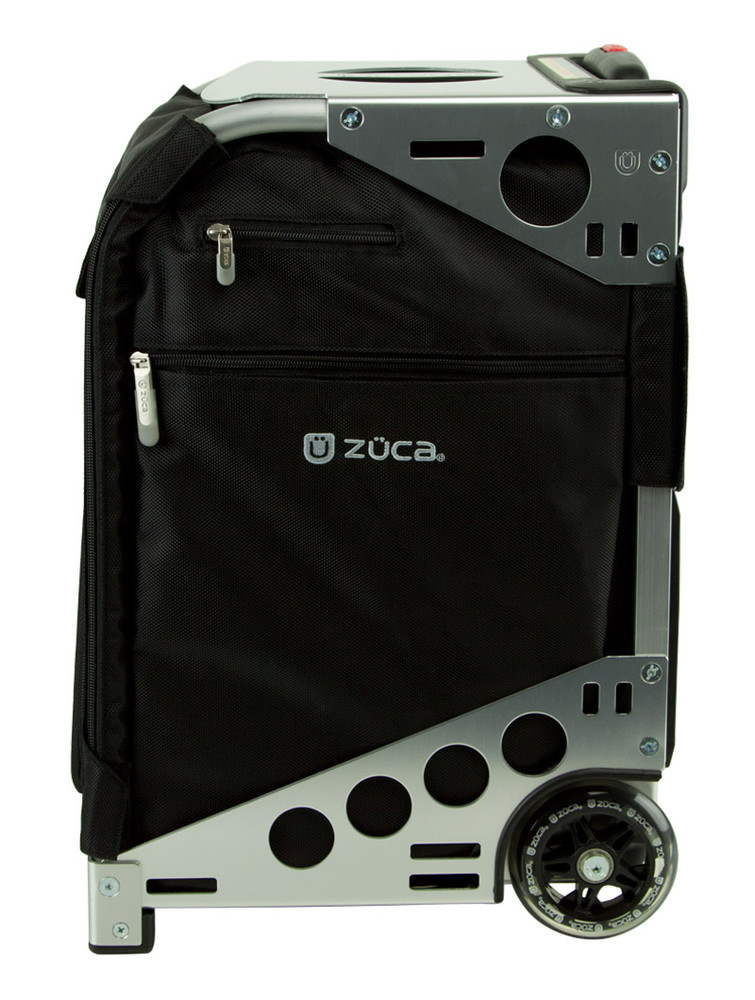 ZÜCA Pro Travel Black/Silver - side view