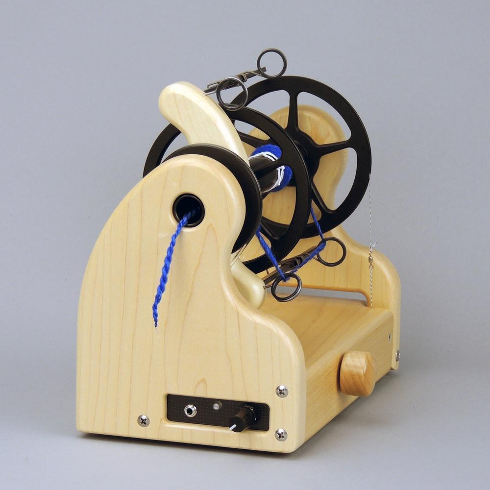 Classic miniSpinner w/ HansenCrafts Standard flyer - Maple