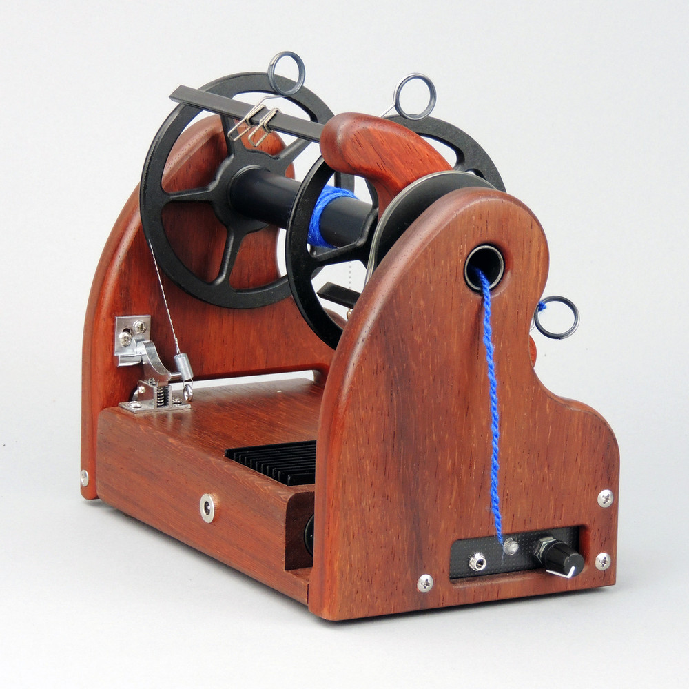 Classic miniSpinner w/ HansenCrafts Standard flyer - Padauk