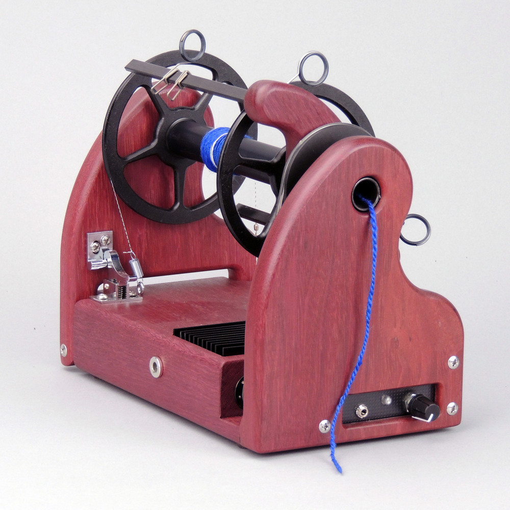 Beautiful Purpleheart HansenCrafts miniSpinner v2.