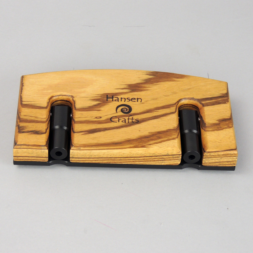 Zebrawood Lazy Kate - top view