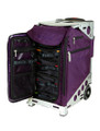 ZÜCA Pro Travel Royal Purple/Silver - inside view w/organizer bags