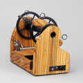 Beautiful Zebrawood HansenCrafts miniSpinner v2.