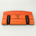 Padauk Lazy Kate - top view