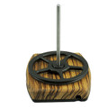 Zebrawood Yarn Ball Holder