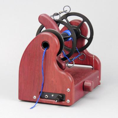 Classic miniSpinner w/ HansenCrafts Standard flyer - Purpleheart