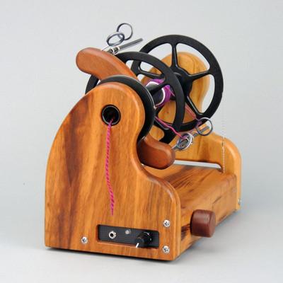 Classic miniSpinner w/ HansenCrafts Standard flyer -  Tigerwood