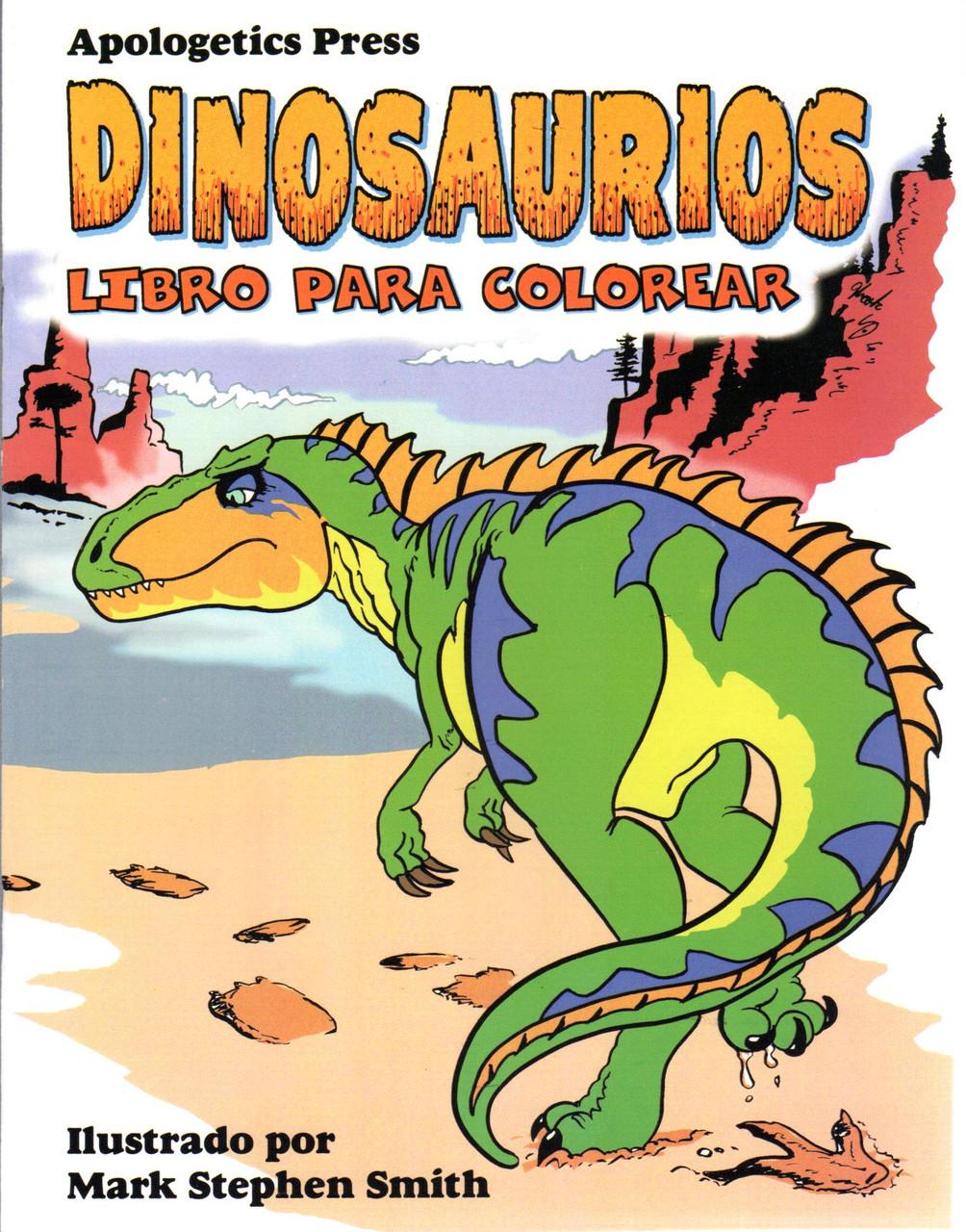Dinosaurios Libro Para Colorear Sunset Bookstore Contiene preciosas ilustraciones que nos acercan al mundo. dinosaurios libro para colorear