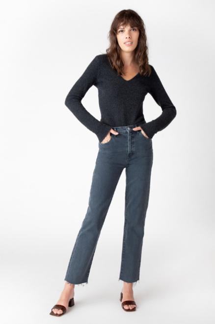 Jules High Rise Straight Jean
