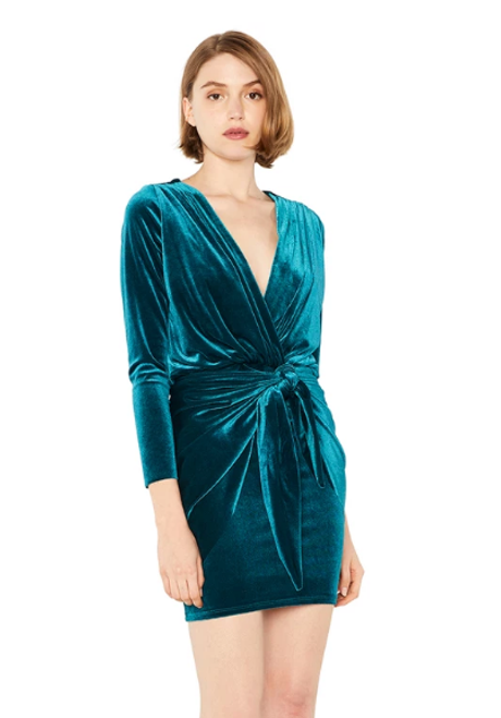 Ophelie Velvet Dress
