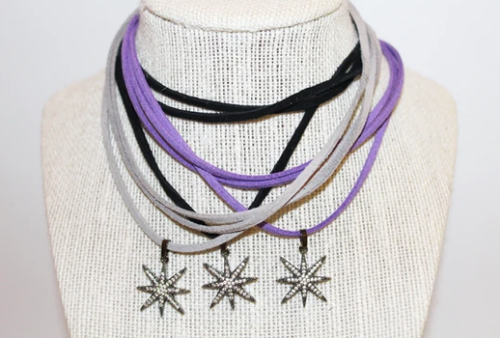 Neilson Wrap Suede Necklace