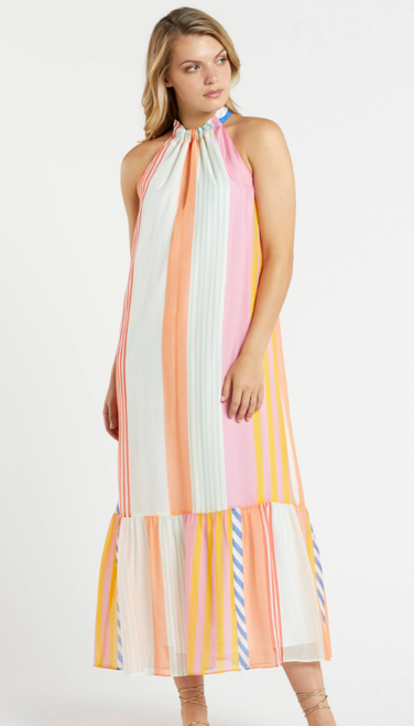 Brynlee Printed Maxi Dress