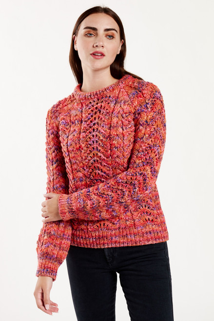 Nora Pointelle Sweater