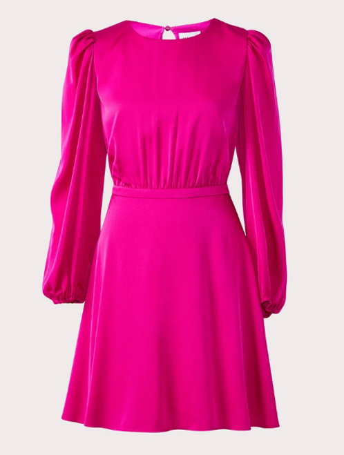 Elma Stretch Silk Dress