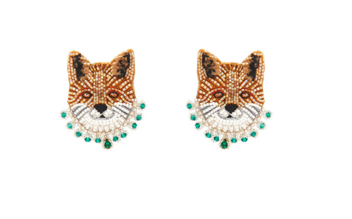 Fox Stud Earring