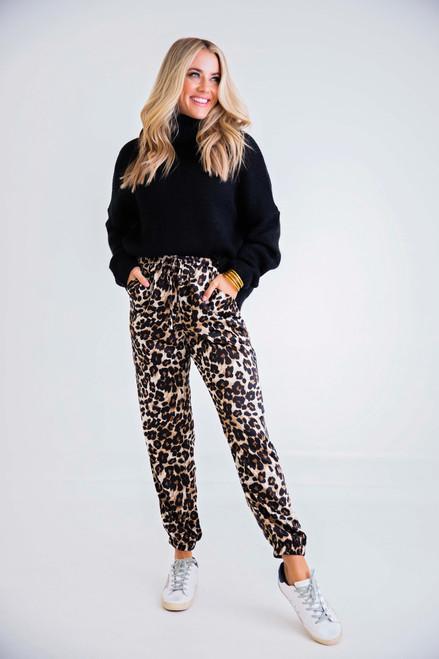 Classic Leopard Jogger