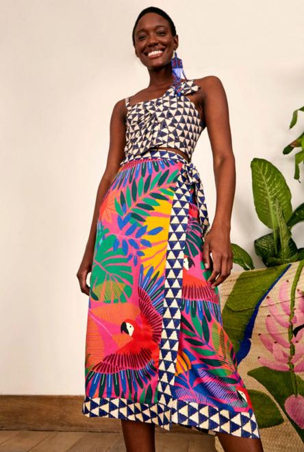 Macaw Sarong Skirt