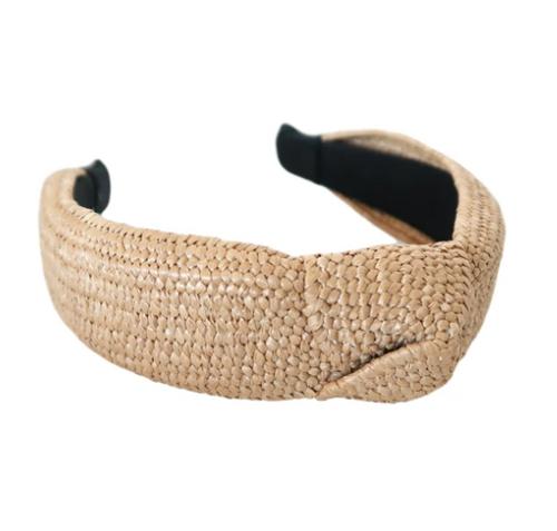Classic Raffia Headband