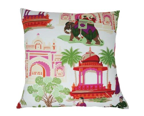 "Bara Bazaar Pillow 20"" Jewel"