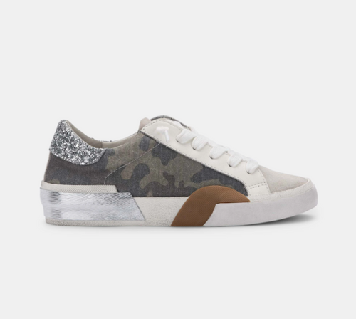Zina Sneakers in Camo Canvas