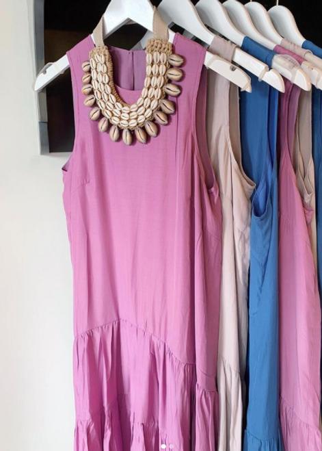 Annie Tiered Midi Dress