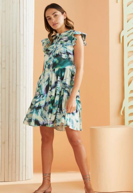 Neelie Dress in Turk Tie Dye