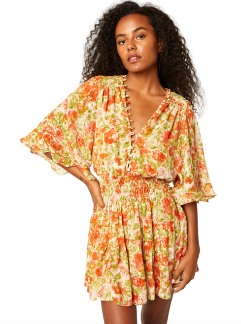 Madison Dress in Valencia Floral